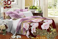Семейный комплект постельного белья Sveline Tekstil PC1468 (поликоттон)