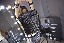 Стеганые дутые рюкзаки для модных девушек, фото 2