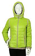Куртка женская демисезонная Covily 817 зеленое яблоко, фото 1