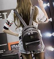 Аккуратный вместительный рюкзак для девушек, фото 3