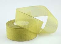 Лента парча золото 4
