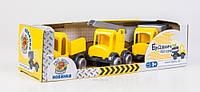 Набор игрушечных машинок Тигрес Kid cars Строитель 3 шт (39270)