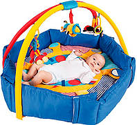 Развивающий коврик Canpol Babies с бортиками Пираты (68/037)