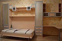 Стенка-шкаф-кровать с рабочим местом, фото 1