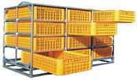 Ящик для автоматизированных систем перевозки бройлеров DRAWERS