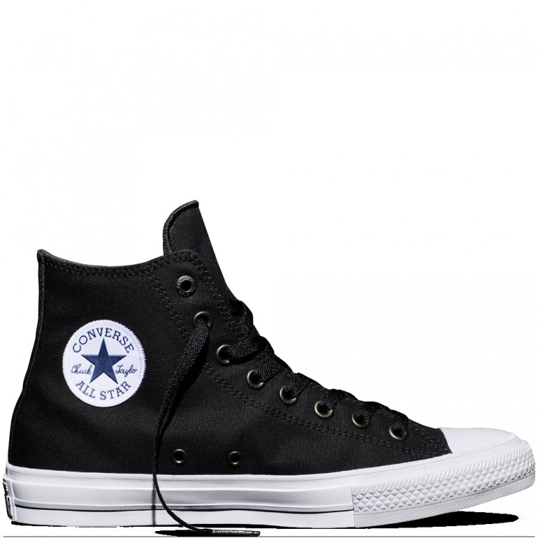 Converse High Black/White/Navy - 850