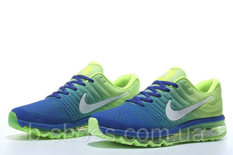 Кроссовки  Nike Air Max 2017 (Blue/Lime)