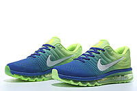 Кроссовки  Nike Air Max 2017 (Blue/Lime), фото 1