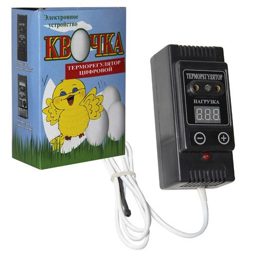 Цифровой терморегулятор Квочка для инкубатора.