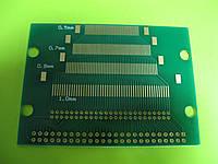 Панелька-переходник LCD/TFT/OLED 50pin (0,5мм/0,7мм/0,8мм/1,0мм/1,1 мм)