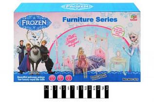 """Ліжко  для ляльок  """"FROZEN"""" 901-321 р.31,5х18,5х6 см./60/"""