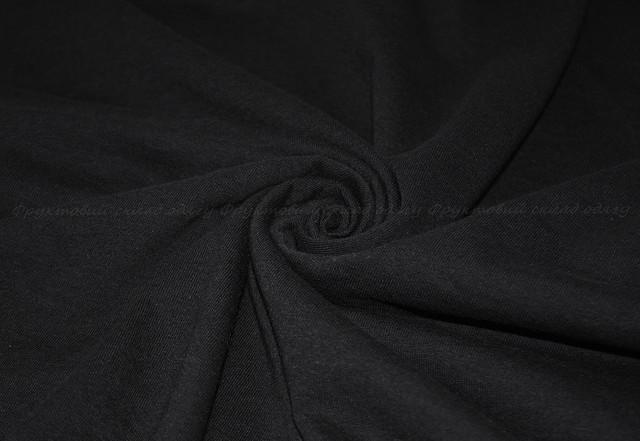 Чёрная детская классическая футболка для мальчиков