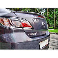 Спойлер на крышку багажника (сабля) Mazda 6 2007-2012