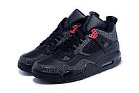 Nike Air Jordan 4 black grey - 1490