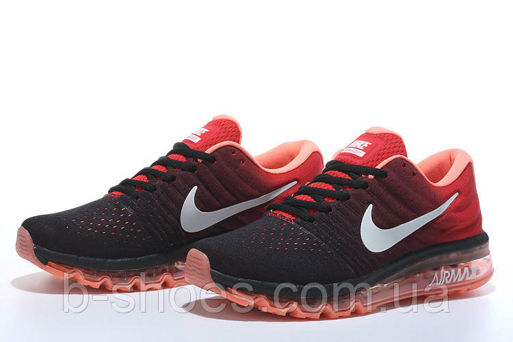 Кроссовки  Nike Air Max 2017 (Black/Red)