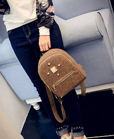 Молодіжний тканинний міні рюкзак