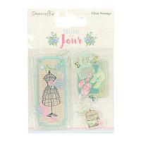 Штампы акриловые Couture Du Jour – Image, Dovecraft, DCSTP081