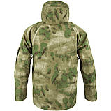 Чоловіча куртка непромокаємий з флісовою підстібкою A-TACS FG Mil-Tec, фото 2