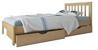 """Односпальная кровать """"Медея мини"""" из дерева (массив бука)"""