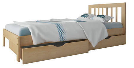 """Кровать """"Медея мини"""" без ящиков (массив бука)"""