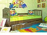 """Ліжко """"Хлоя"""" з ящиками (масив бука), фото 2"""