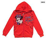 Теплая кофта Minnie Mouse для девочки. 122 см