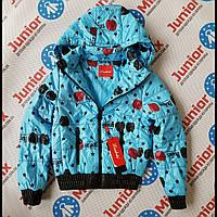 Подростковая модная куртка на девочек  Lizabeta