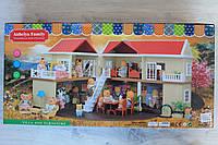 Домик Сильвания Фэмили Sylvanian Families мебель, в коробке 75*14*36 см