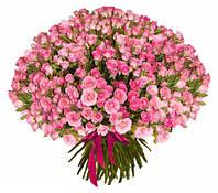 """Огромный букет из кустовой розы """"301 ветка"""""""