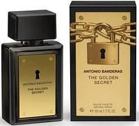 Мужская туалетная вода Antonio Banderas The Golden Secret. духи антонио бандерос фото.