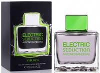 Мужская туалетная вода Antonio Banderas Electric Seduction In Black. духи антонио бандерос мужские.