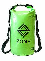 Рюкзак водонепроницаемый Zone Green 20L, фото 1