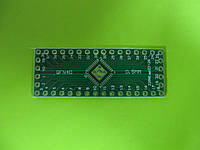 Панелька-переходник QFN32/QFN40 - DIP 0,5мм