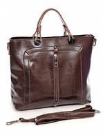 Кожаная женская сумка 1036 Coffee