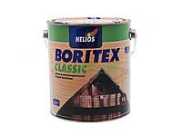 Helios Boritex Clasic (боритекс лазур) 0,75 л. Черешня, деревозащитная лак-пропитка на воске , с УФ фильтром, фото 1