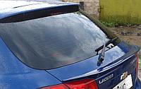 Спойлер на крышку багажника (сабля) Chevrolet Lacetti Hatchback 2004-2012