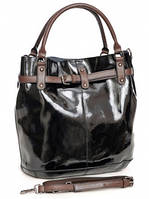Кожаная женская сумка 51029 Black