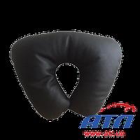 830076 Подушка автомобильная подголовник (черная перфорированая кожа)