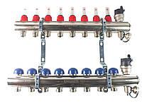 Колектор з витратомірами Emmeti 6 виходів