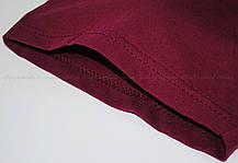 Мужская Футболка Классическая Fruit of the loom Бордовый 61-036-41 S, фото 3