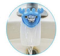 Насадка - удлинитель на водопроводный кран для детей Крабик