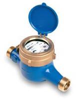 Счетчик холодной воды мокроход WM-2.5 Powogaz Ду 15 со штуцерами