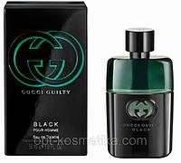Мужская туалетная вода Gucci Guilty Black Pour Homme , гуччи мужские духи