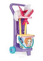 Детский игровой набор с тележкой Маленькая хозяйка