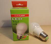 Светодиодная энергосберегающая (LED) лампа Eurolamp ECO A50 7W E27