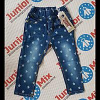 Детские джинсы в звездочки на девочек NIEBIESKI KSIEZYC