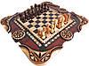 Шахматы+нарды в оригинальном исполнении