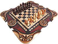 Шахматы+нарды в оригинальном исполнении, фото 1