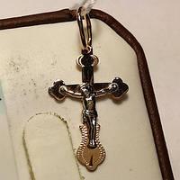 Крестик из золота детский