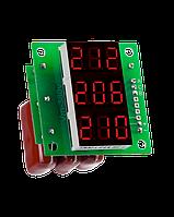 DigiTOP Вольтметр переменного тока Вм-14 (3x220в) трехфазный без корпуса
